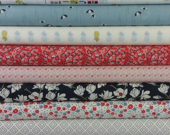 Charleston Waterfront Park Bundle from Art Gallery by Amy Sinibaldi (9 Fabrics)