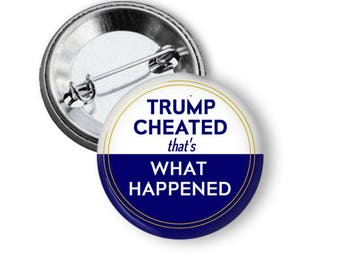 Hillary Clinton Button What Happened Button Hillary Pin