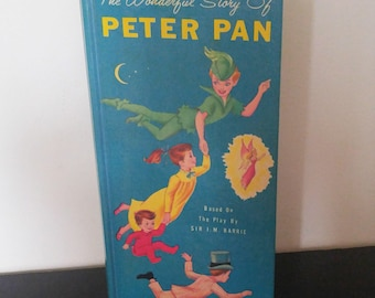 Vintage Children's Book - Peter Pan - 1966