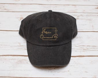 Sorority Hat, Dad Hat, Sorority Baseball Hat, Baseball Hat