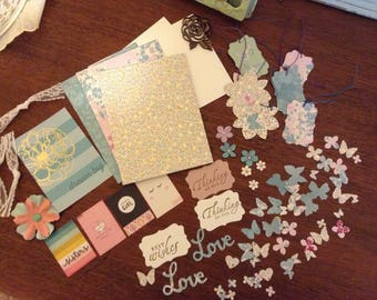 Diy card kits etsy do it yourself card making kit makes three cards diy solutioingenieria Images