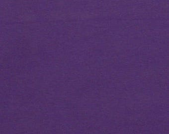 Pre-Cut** Cotton Lycra Spandex Knit Jersey Fabric 12 oz Heavy-Purple  (349)