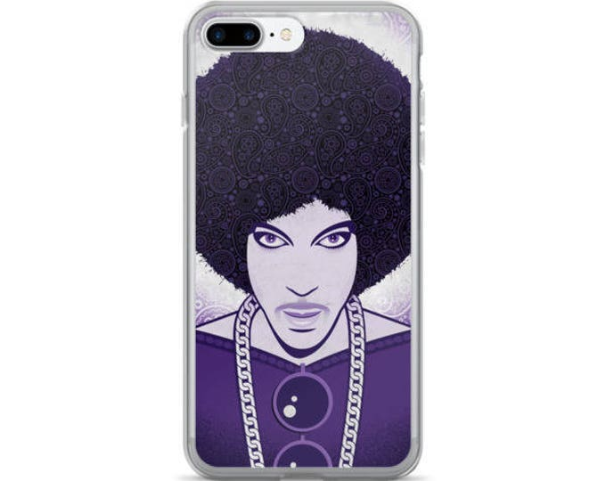 Prince in Purple, iPhone Case & iPhone Plus Cases