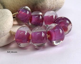 Turkish Delight, Lampwork Beads, SRA, UK