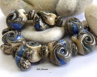 Dragon Dreams, Lampwork Beads, SRA, UK
