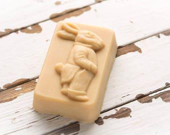 Organic goat milk soap for Easter or Springtime