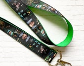 Loki (Tom Hiddleston)~ Keychain, Lanyard, or Breakaway Lanyard