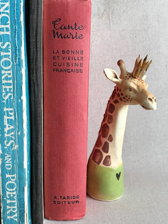giraffe sculpture  - one if a kind