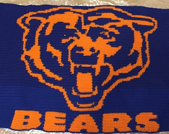 Chicago Bears mini throw