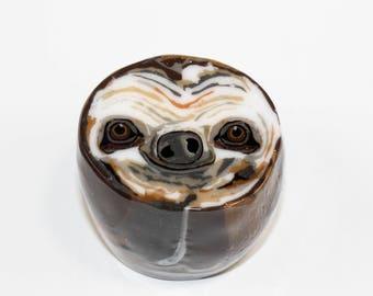 Sloth Head End Cane