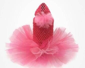 Dog Tutu - Hot Pink Dog Tutu-Tutu Dresses for dogs -Dog Dress - Dog Clothes - Dog Dresses-Dog Clothing-Dog Wedding-Black Dog tutu