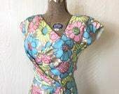 Vintage 1960's Silk C...