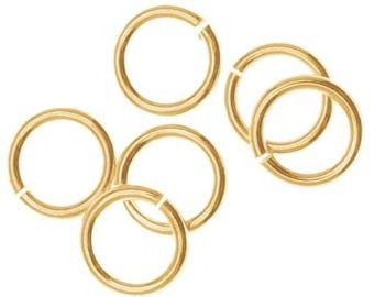 6mm Jump rings 14kt Gold Filled 20 gauge  Open Style - 20 pieces  SALE!