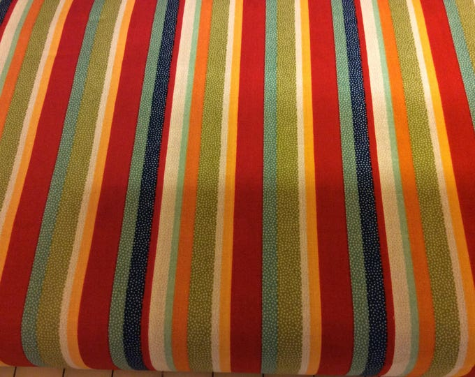 Striped Fabric / Primary Color Stripes / Coordinating Fabric / On Our Way  / Sewing Fabric / Quilting Fabric / by Riley Blake / C1423