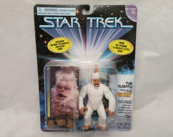 Star Trek Original Series THE MUGATU Action Figure - New in Box - NIB - From episode The Tholian Web