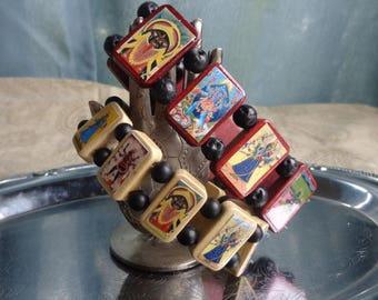 Kali Wooden Devotional Bracelet.