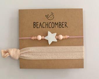 Beach jewelry, friendship bracelets,  gift for her
