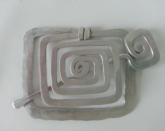 Vintage Shawl or Scarf Clip Brooch