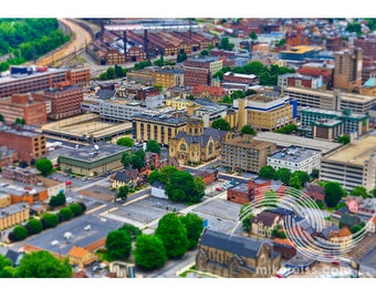 Johnstown Inclined Plane, johnstown, pennsylvania, pa, cityscape, town, historical, flood, elevation, focus, surreal, southwestern pa, wow