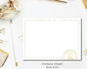 Vintage Stamp Stationery