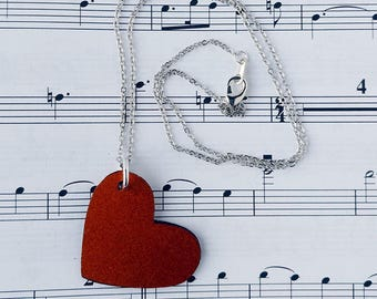 Cello Love Necklace