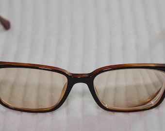 Vintage Polo Ralph Lauren Black Brown Rx Glasses