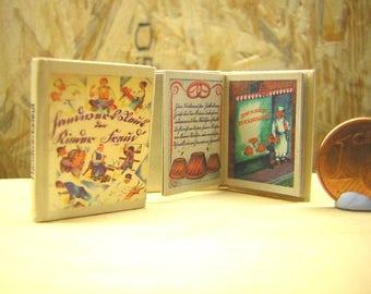 Bei den Handwerksleut miniature book 1/12