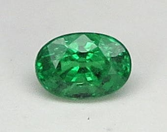 1.28 Ct Natural Green Garnet Tsavorite Unheated