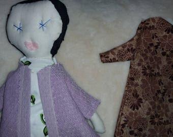 Rag Doll Jess Brown Likeness Handmade OOAK Clementine