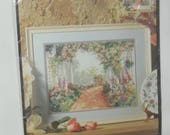 Cross Stitch Kit Garden Arbor Bucilla Kit
