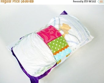 FINAL CLEARANCE Clearance Stripes Diaper Strap - Multi Color Fun Stripes