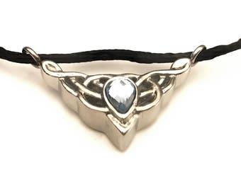 Celtic Cremation Urn, Celtic Knot Cremation Locket, Celtic Urn, Claddagh Locket, Ashes Holder, Memory Locket, Cremation Jewelry,