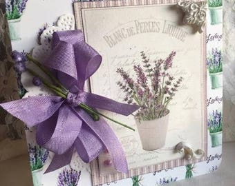 ON RESERVE ~~~ For R.  ~~~~All Occasion ~~~  Lavender Herb Design~~~  Lovely  Greeting~~~~
