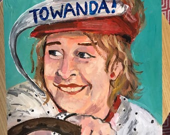 Fried Green Tomatoes painting
