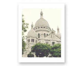 Paris photography, canvas art, paris wall art, large art, Paris canvas, Paris print, canvas wall art, Paris photos, Sacre Coeur, wall art