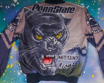 Penn State Nittany Lions Basketball Chalk Line Jacket Size S