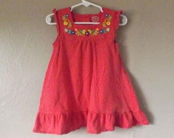 Carter's Dress Size 2T, Carters Girl Clothes, Kids Clothes, Bohemian Kids Clothes, Bohemian Sundress