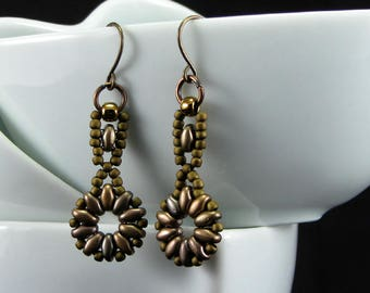 Petite Beaded Earrings