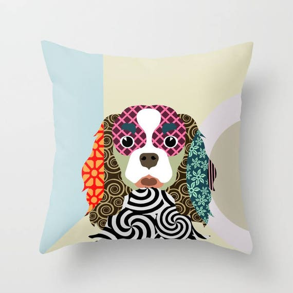 Cavalier King Charles Spaniel Pillow, King Charles Gift, Cavalier King Charles  Accessories, Dog Lover Pillow