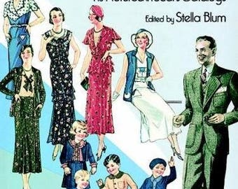 Everyday Fashions of the Thirties Book