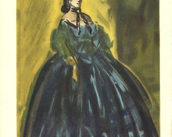 Lena Leclercq-Les Femmes dans l'atelier-1948 Lithograph