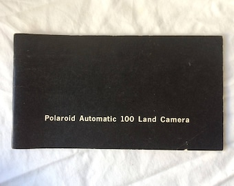 Polaroid Automatic 100 Land Camera Manual