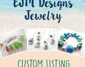 Custom listing for Amanda