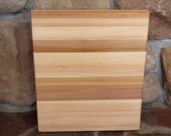 Cedar cutting board