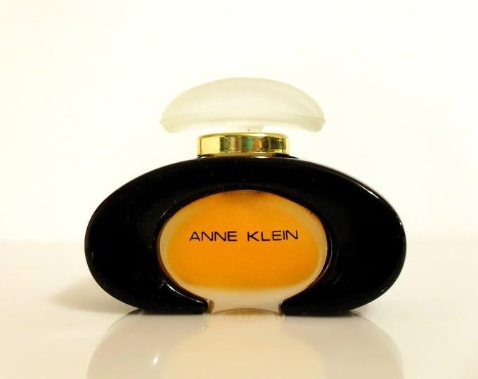 Vintage 1980s Anne Klein by Anne Klein 0.25 oz Pure Parfum Splash PERFUME