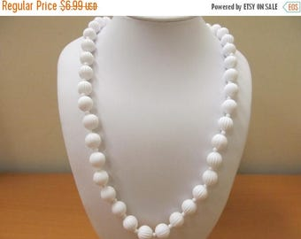 ON SALE MONET Molded Plastic Beaded Necklace Item K # 2329