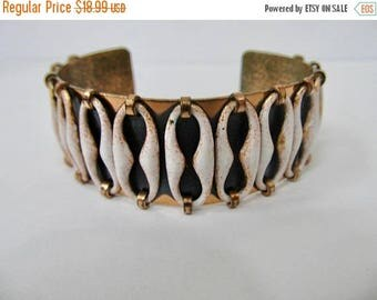 ON SALE MATISSE Enameled Copper Cuff Bracelet Item K # 2946