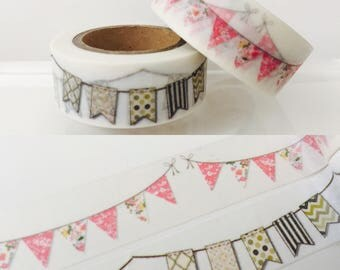 Banner Washi Tape in 2 Patterns