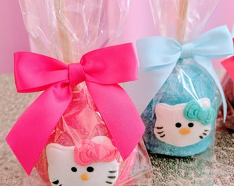 Hello Kitty candy apples 12 per order