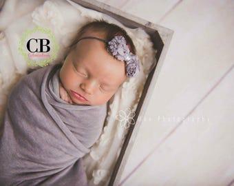 Baby Headbands, Newborn Headband, Baby Bow, Headband, Baby Bow Headband, Pink Bow, bow headband, bow, grey bow, hairbow, baby girl headband